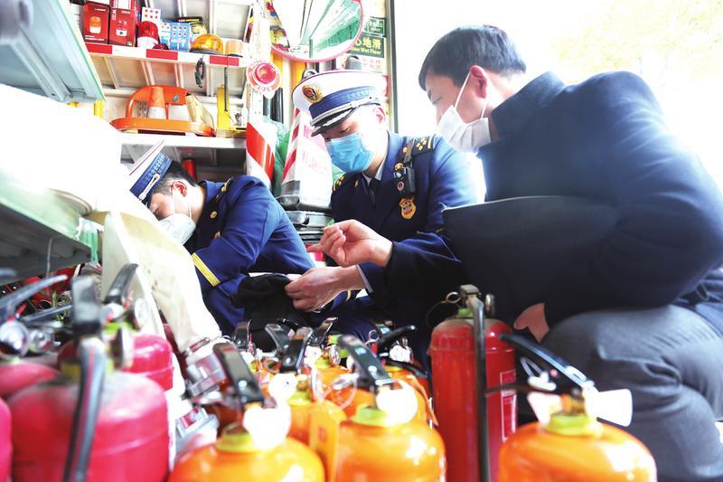 """開展""""3·15""""消防產品專項檢查"""