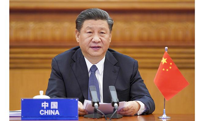 習近平出席二十國集團領導人應對新冠肺炎特別峰會并發表重要講話