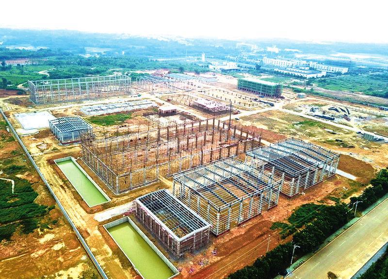 瞄准市场建正酣 ——安徽博纳新材料科技有限公司建设现场见闻