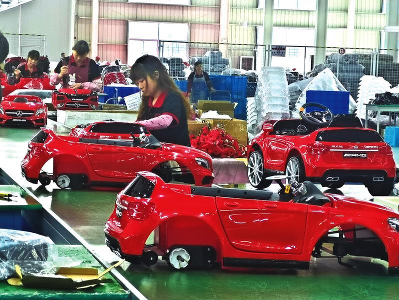 舞活产业链迈上集群路 ——青阳县丁桥镇做大做强童车产业侧记