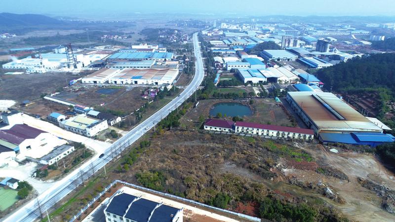 与时间赛跑抢效益 ——青阳县新河镇推进项目建设侧记