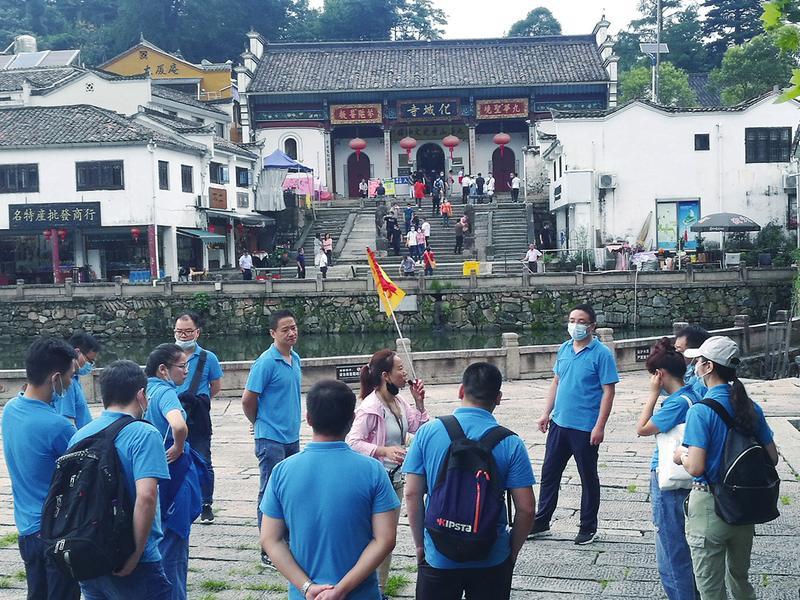 九華山:旅游人氣快速回升 景區運營平穩有序