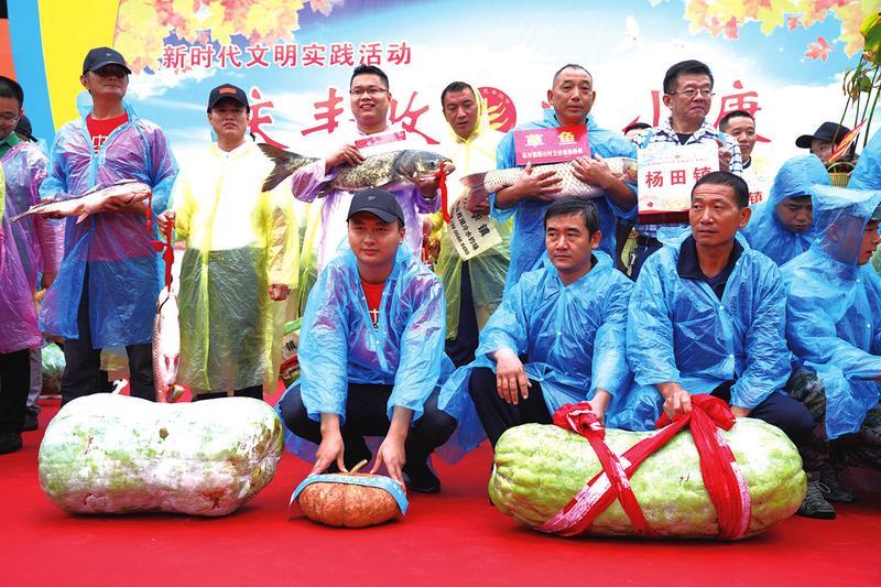 """欢庆第三个""""中国农民丰收节"""""""