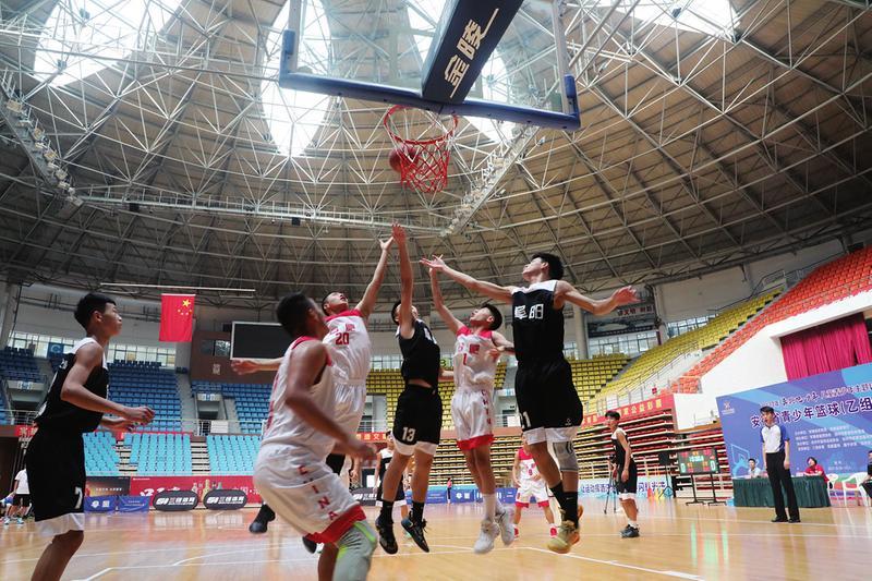 2021年安徽省青少年籃球(乙組)錦標賽在池州開幕