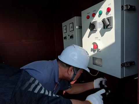 池州市首艘船舶岸电受电设施改造顺利完成