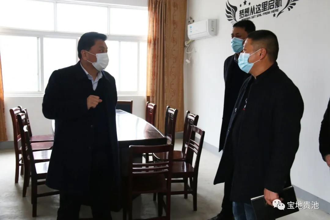 馬勝利區長到殷匯鎮調研邊緣村脫貧攻堅工作,他說要這樣干……