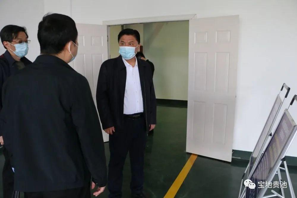 马胜利崩兴宇节前督导疫情防控和旅游市场安全等工作