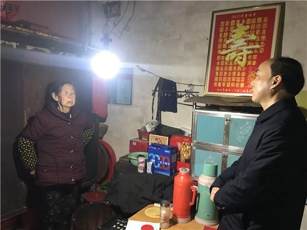 汪茂耀赴石台银堤开展扶贫村调研走访