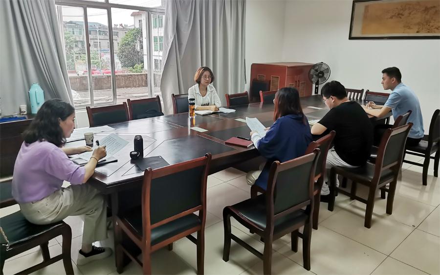 县政务公开办开展一季度政务公开工作实地调研活动