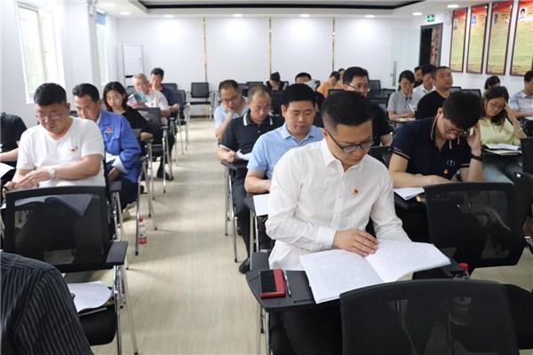 公司支部參加開發區非公企業黨組織書記述職評議會