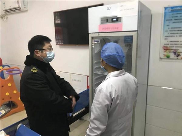 石台县市场监管局开展新型冠状病毒疫苗质量安全专项检查