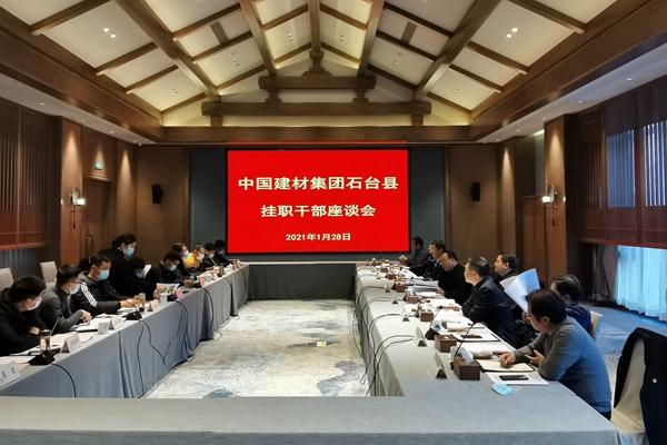 中建材集团石台县挂职干部座谈会召开