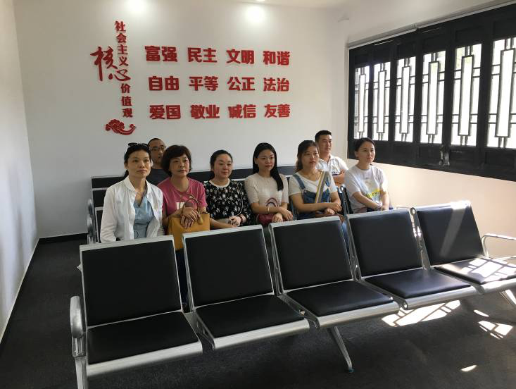 """江南产业集中区开展""""参观好人馆 传递正能量""""新时代文明实践活动"""
